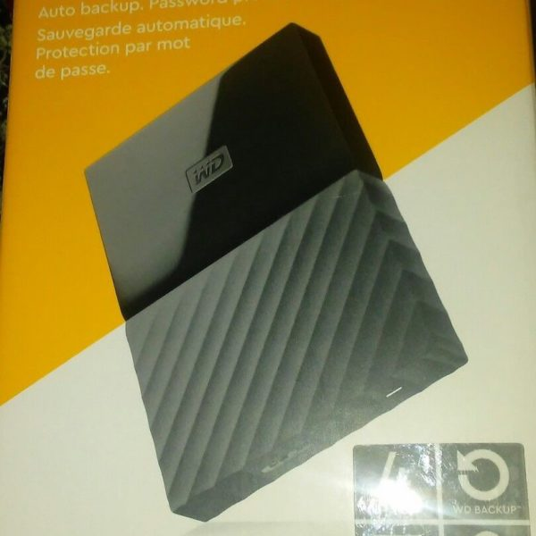 *BRAND NEW* WD 4TB Black USB 3.0 My Passport Portable External Hard Drive