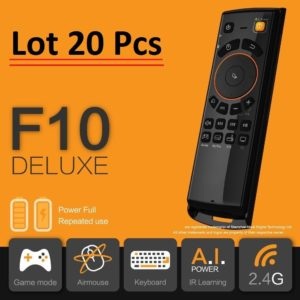 *Lot of 10 pcs* F10 Deluxe Air Mouse Keyboard Best Remote for Android TV Box 1